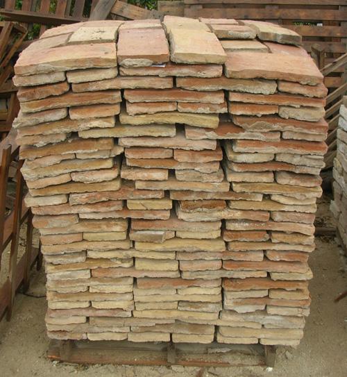 Recuperacion de materiales construccion rusticos tejas - Precios de ladrillos para construccion ...