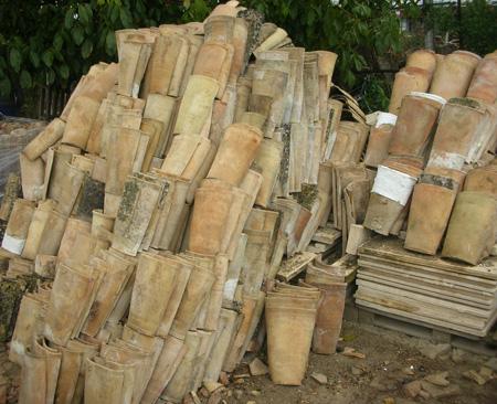 Recuperacion de materiales construccion rusticos tejas - Precios de ladrillos rusticos ...