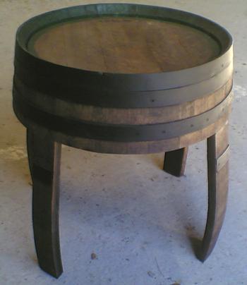 Muebles rusticos barril barricas y toneles for Muebles para bodegas rusticas
