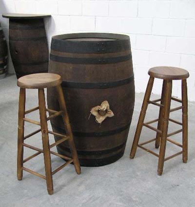 Muebles rusticos barril barricas y toneles - Muebles montilla malaga ...